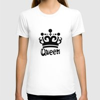 arya T-shirts featuring Queen Levy by Arya