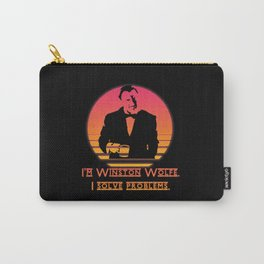Winston Wolfe. I solve problems Carry-All Pouch