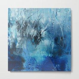 Ocean Blue Art Print  Metal Print
