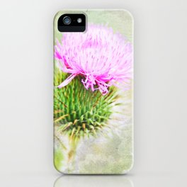 Blessed Thistle iPhone Case