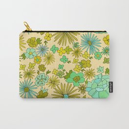 retro wall paper daydreams // art by surfy birdy Carry-All Pouch