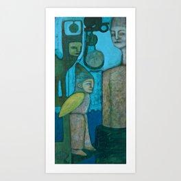 Mechanisms of Belief 3 Art Print