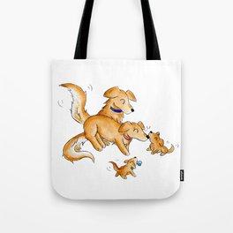 Golden Family Tote Bag