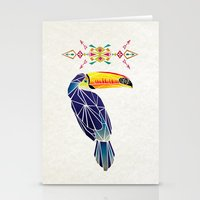 toucan Stationery Cards featuring toucan by Manoou