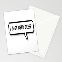 Sleep. Stationery Cards