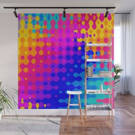 Totally Psychedelic Hippy Pattern Wall Mural