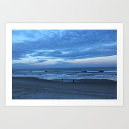 Dusk over the Ocean Art Print