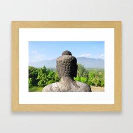 Borobudur Temple, Yogyakarta, Java, Indonesia Framed Art Print
