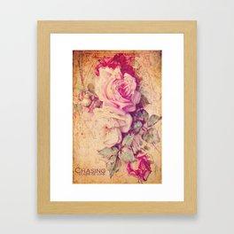 Pauline's Rose Wall Framed Art Print