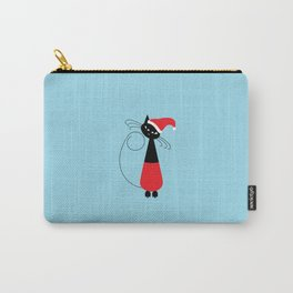 Santa Claws Cat Carry-All Pouch