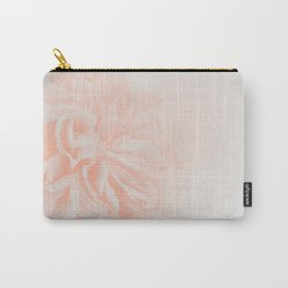 Light Peach Rose #3 #floral #art #society6 Carry-All Pouch