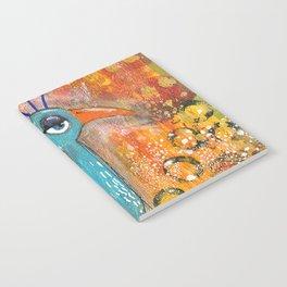 Sleepy Eyed Bird #2 Notebook