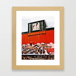 Caboose Framed Art Print
