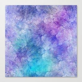 Frozen Leaves 12 Canvas Print