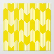 Yellow  Boho Arrows Canvas Print