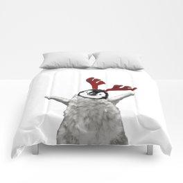 Christmas Baby Penguin Reindeer Comforters