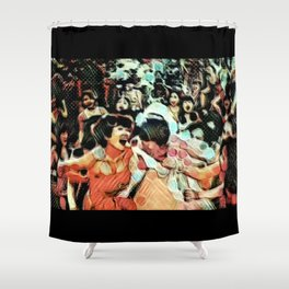 Societal Angst: The Keening of the Banshees Shower Curtain