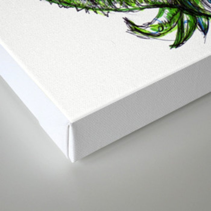 Walking Hybrid Canvas Print