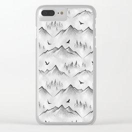 Eagle Mountain Clear iPhone Case