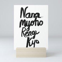 Nam Myoho Renge Kyo Mini Art Print