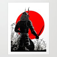 The way of warrior Art Print