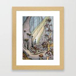 On Going Unnoticed Framed Art Print
