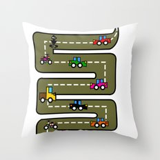 ::::::::::::::Ssseeeeeeeeerpiente:::::::::::::: Throw Pillow