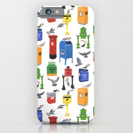 Mailboxes Around the World iPhone Case