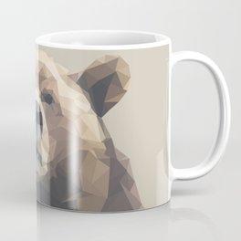 Low Poly Bear Coffee Mug