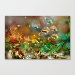 Underwater 14 Canvas Print