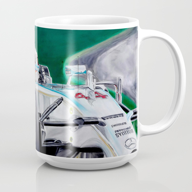 r/&e personalised printing Lewis Hamilton Mug en c/éramique avec Citation de Lewis et Championnat Dates on The Mug en c/éramique 11 oz