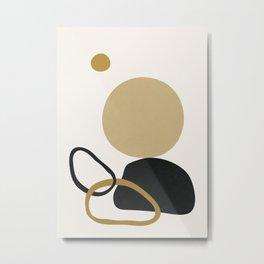 Abstract Minimal Art 12 Metal Print