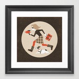 We Mean Business Framed Art Print