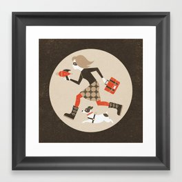 We Mean Business Framed Art Print