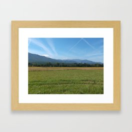 Cade's Cove  Framed Art Print