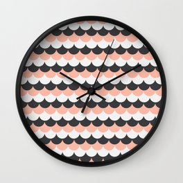 Frosting Scales 1 (SWG) Wall Clock
