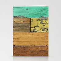 western Stationery Cards featuring Lejano Western by Diego Tirigall