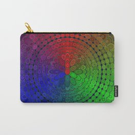 RGB Mandala Carry-All Pouch