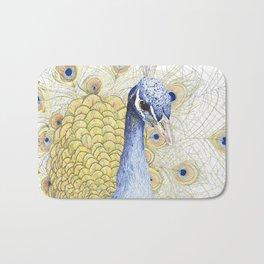 The Peacock Bath Mat