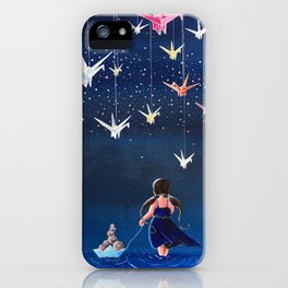 Origami Dream iPhone Case