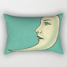 La Luna Card Rectangular Pillow