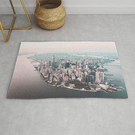 Manhattan NYC Sunset Rug