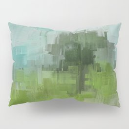 Spring Breeze Abstract Expressions Pillow Sham