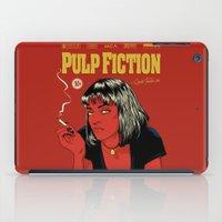 tarantino iPad Cases featuring P. F. by CranioDsgn