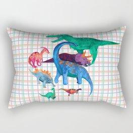 Triassic Plaid Rectangular Pillow