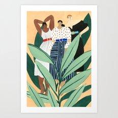 Carolina Herrera Resort Art Print