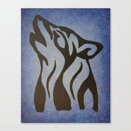 Wolf Spirit 1. Canvas Print