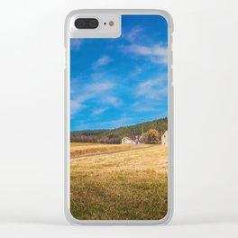 German Wald und Wiese Clear iPhone Case