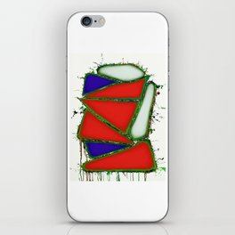 Red sail iPhone Skin