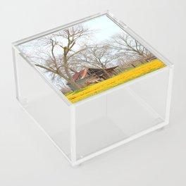 Field Of Gold Acrylic Box
